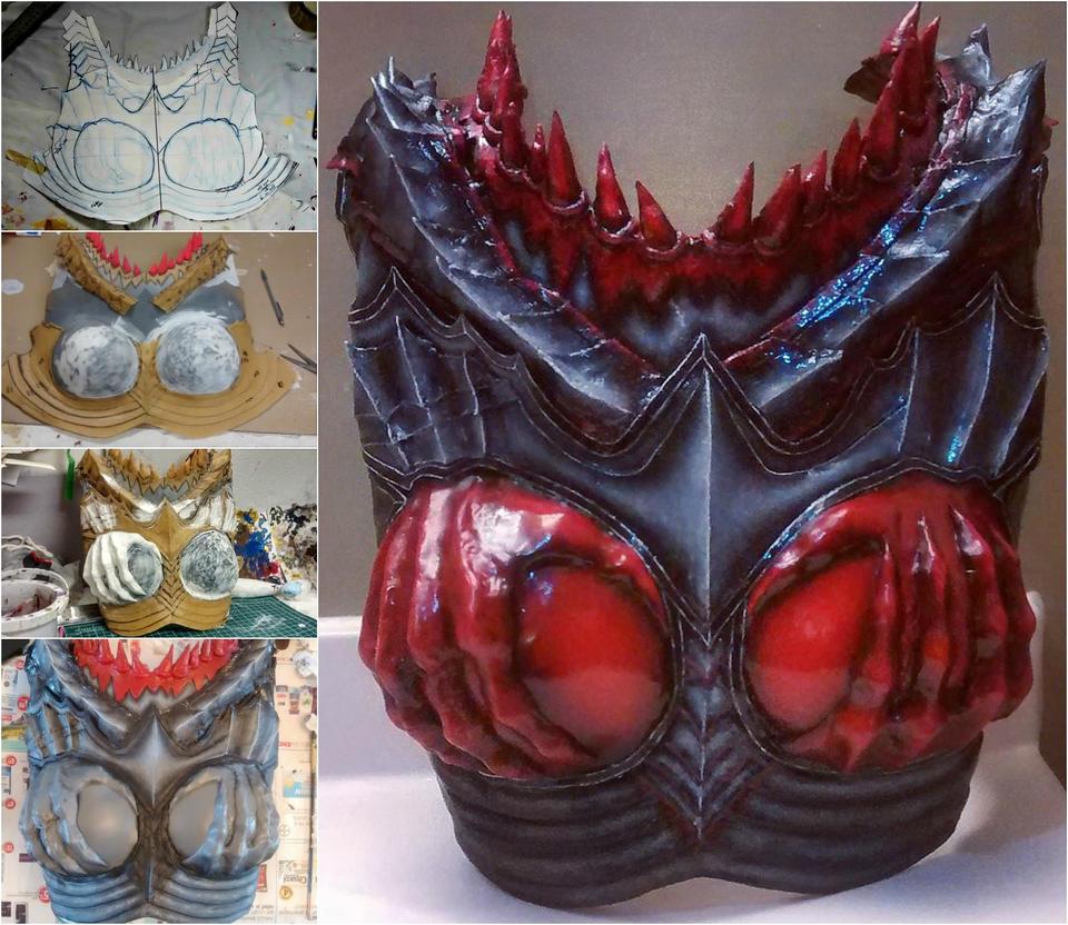 Guild Wars 2 Breastplate (WIP + Complete) by darkestcountryroad