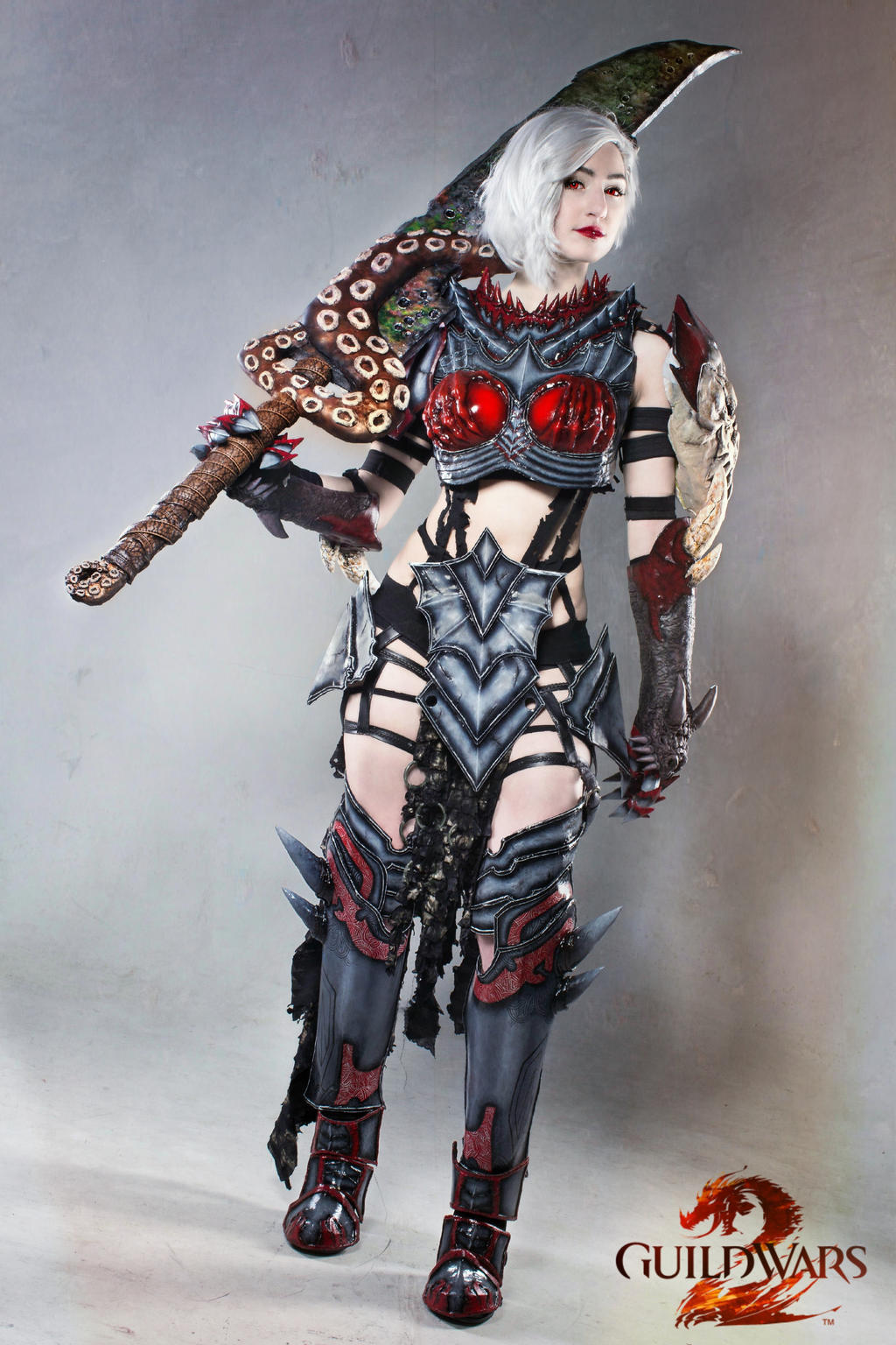 On My Mark Guild Wars 2 Warrior Cosplay By Luxxlo On