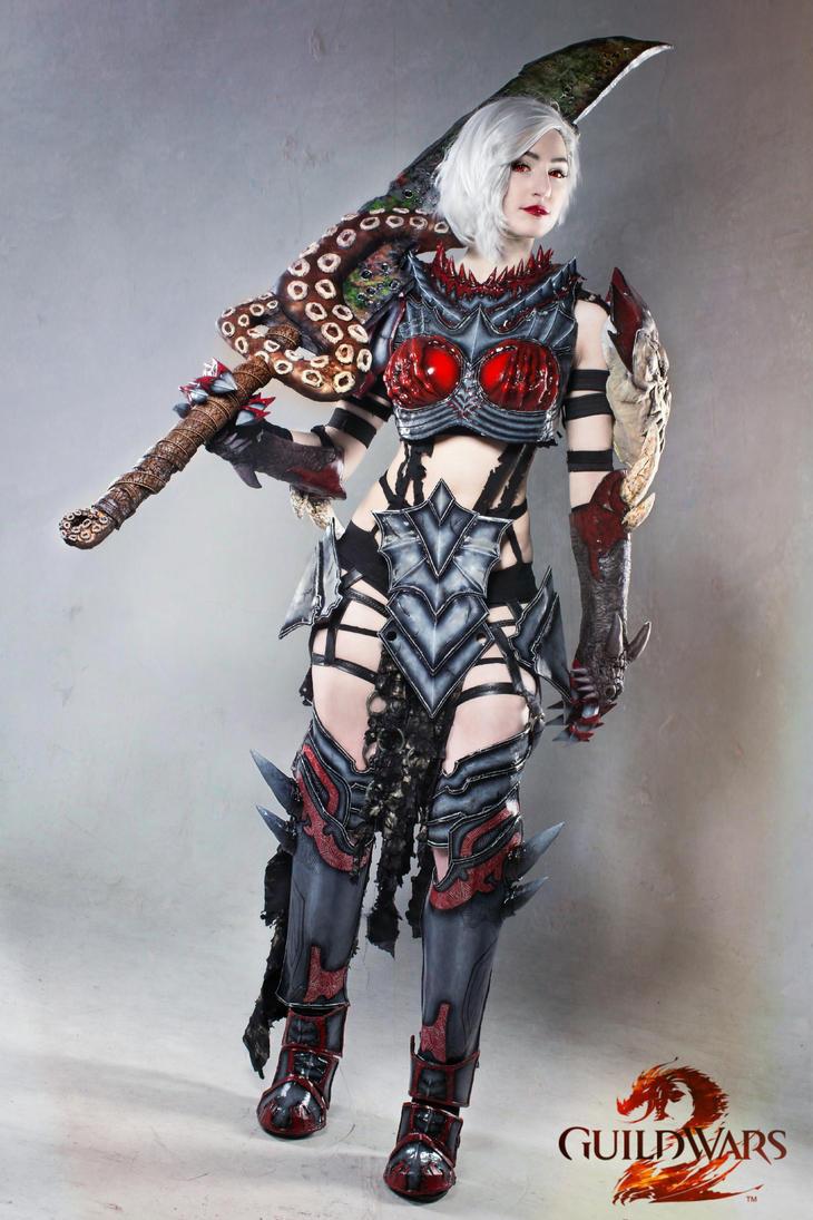 On My Mark- Guild Wars 2 Warrior Cosplay by darkestcountryroad