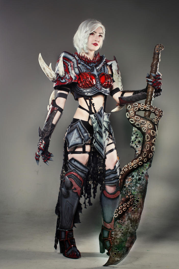 For Great Justice- Warrior Cosplay (Guild Wars 2) by luxxlo