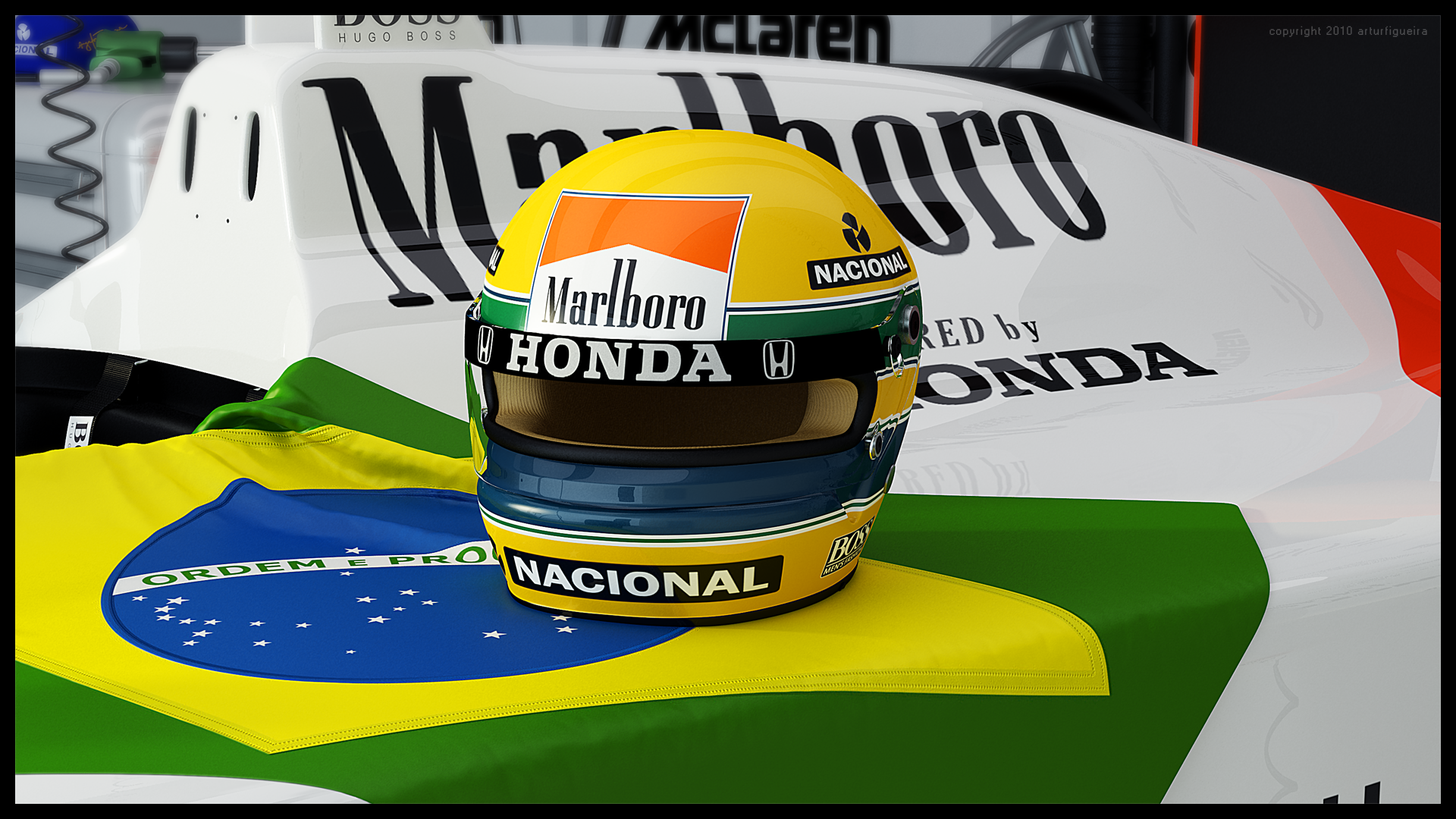 Ayrton Senna Tribute by ART-havoc