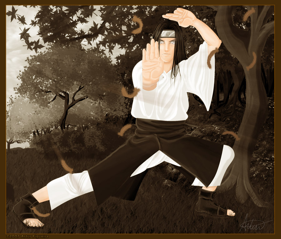 hyuga neji wallpapers. Hyuuga Neji by ~ART-havoc on deviantART
