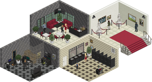 Isometric Gallery by edgemistress