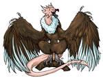 Vulture Dragon- belongs to SerGrimm