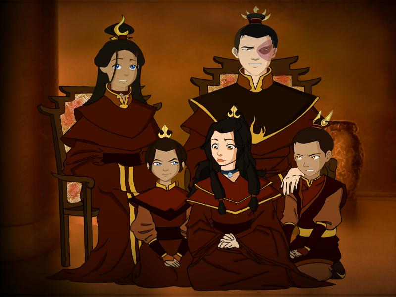 Zutara Royal Family by Ardawling on DeviantArt