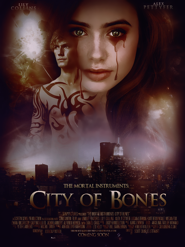 City of Bones Movie Poster by Ardawling on DeviantArt