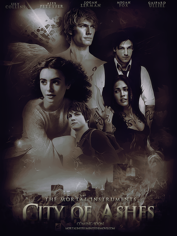 City of Ashes Movie Poster by Ardawling on DeviantArt