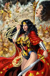 Wonder Woman color by Sulamoon