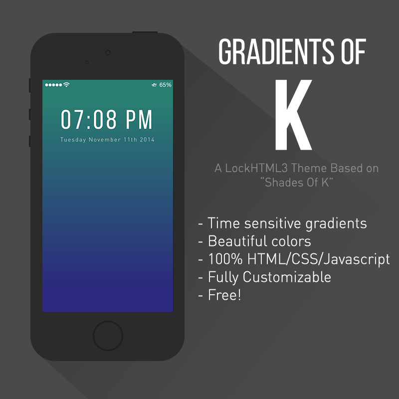 Gradients of K [Release] by drpoup