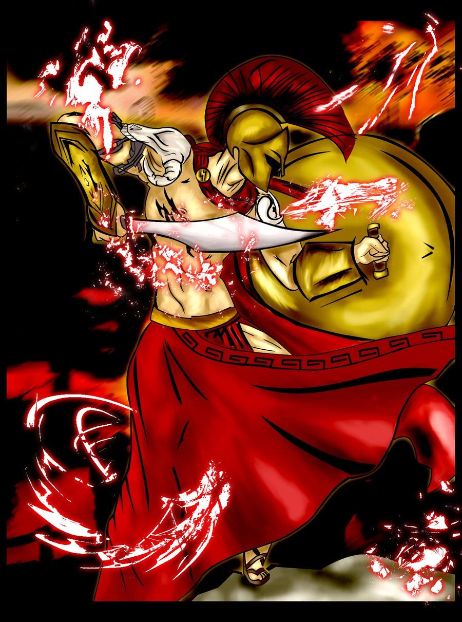 Ares: God of War by shrink20 on DeviantArt