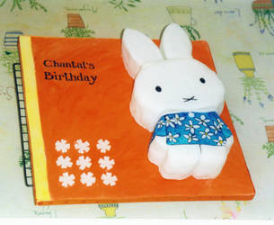 Miffy The Cake by cdp-xo