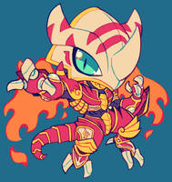 burninggreymon by extyrannomon