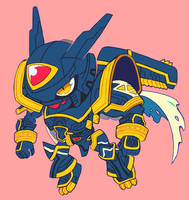 alphamon by extyrannomon