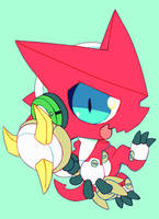 shoutmon by extyrannomon