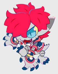 monster sora by extyrannomon