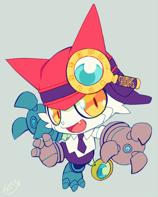 business gatchmon by extyrannomon