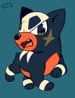 houndour by extyrannomon
