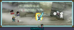 What if ... Black Goku Ultra Instinct by Mangal666