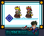 Sprite - Bowsette by Mangal666