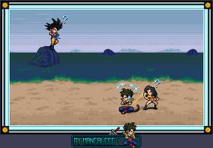 Simulation Oc , DC Universe Goku