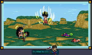 What if ... Goku Ikarie Vs Raditz