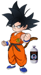 [Collab] Colo - Kid Goku Signe Ultra Instinct by Mangal666