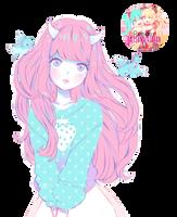 Render Girl #76 by ImTsundereBaka