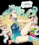 Hatsune Miku Render #6