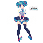Hatsune Miku Render #11