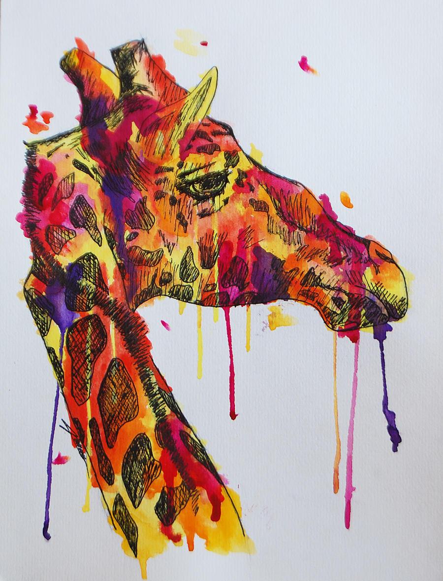 Pixie Stik the Giraffe