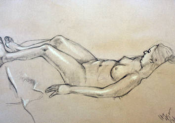 Life Drawing by Rockwithme192