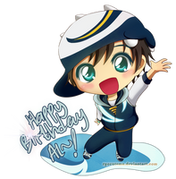 Happy Birthday Al~! by ryocutema