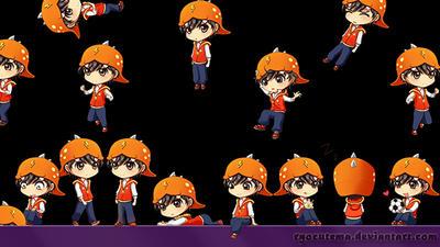 Shimeji: BoBoiBoy School ver. by ryocutema