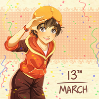 13th March
