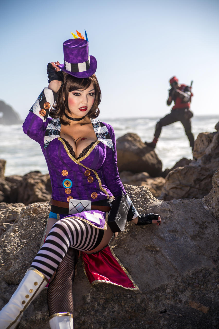 shot through the heart borderlands 2 cosplay by azhp on