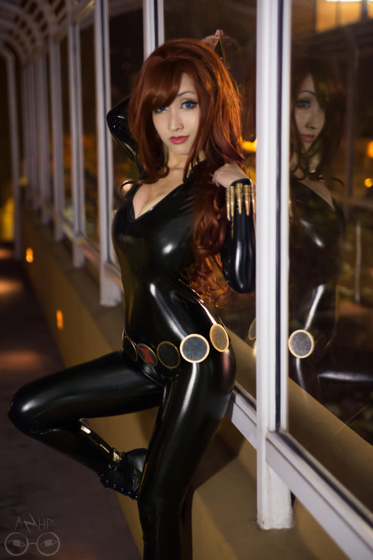 Black widow marvel cosplay - photo#1