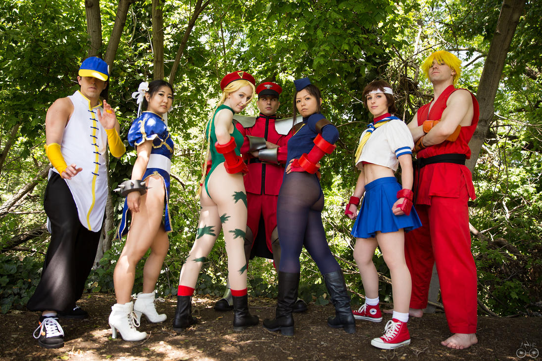 street fighter nude cosplay
