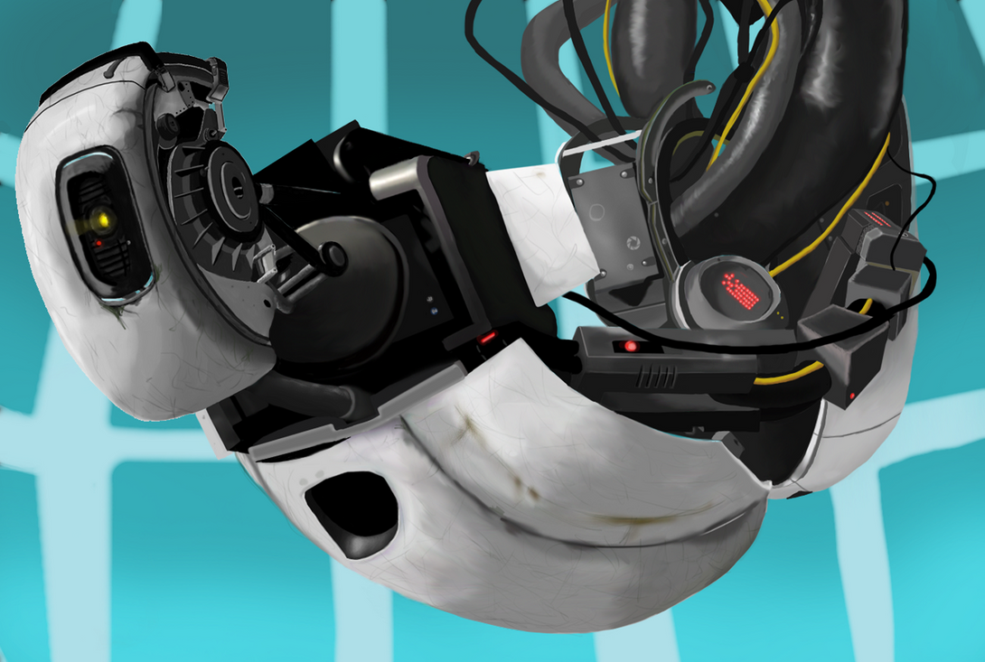 GLaDOS Fanart by gabsters109