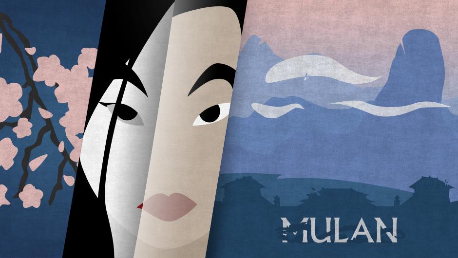 Mulan minimalist by YukiOria