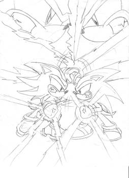 Sonic vs Shadow better view