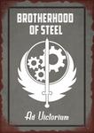 Fallout 4 Brotherhood of Steel Tin Sign