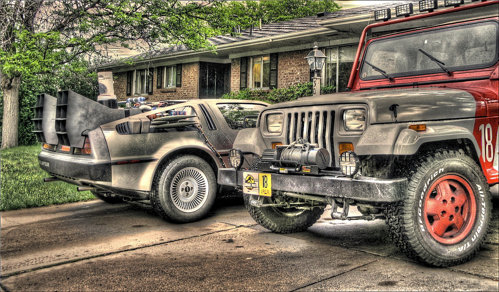 Jurassic Park Jeep Hdr By Mindustry On Deviantart