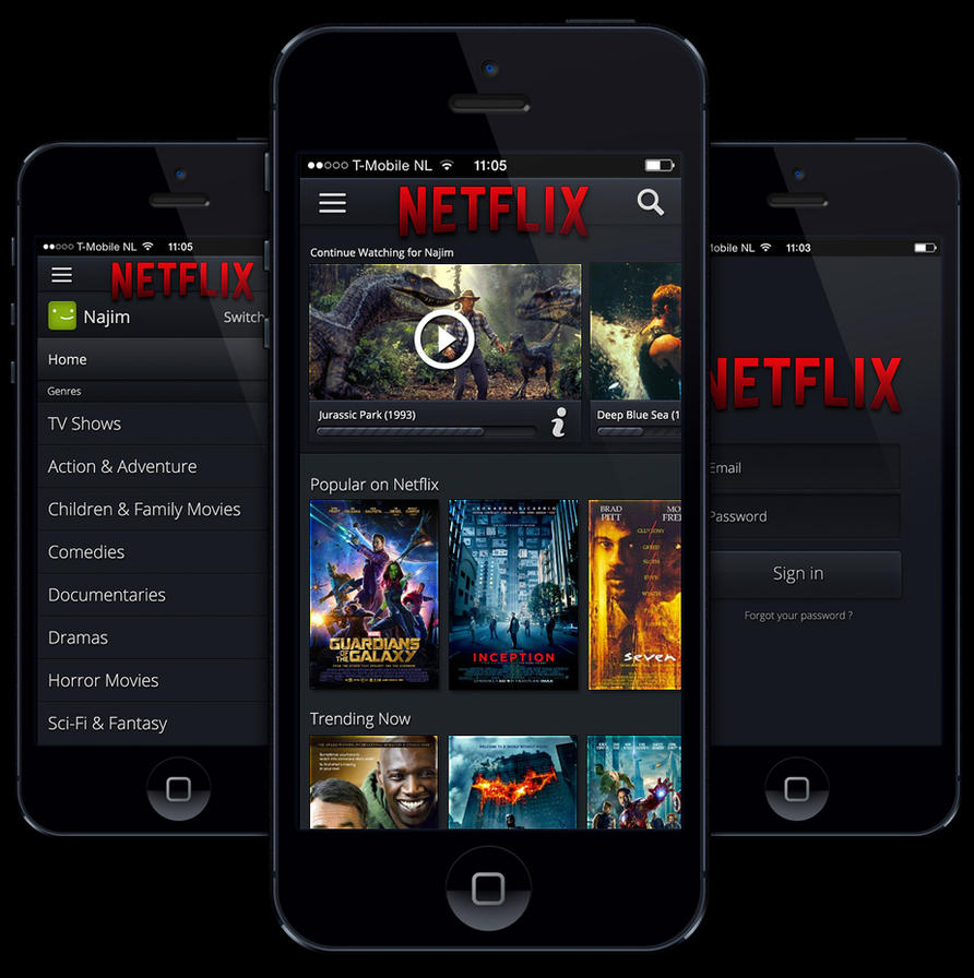 Netflix updated for iOS 7 with HD streaming, AirPlay support