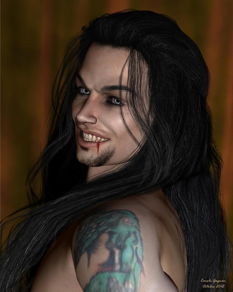 Locky the vampire