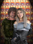 Clovis et Alia by JezyCarole