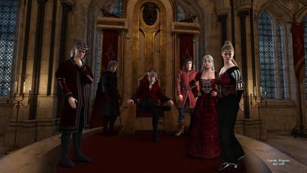 Debeauvillier Family by JezyCarole