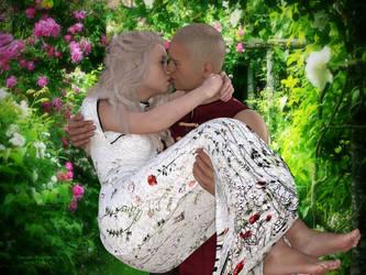 Rose et Edouard by JezyCarole