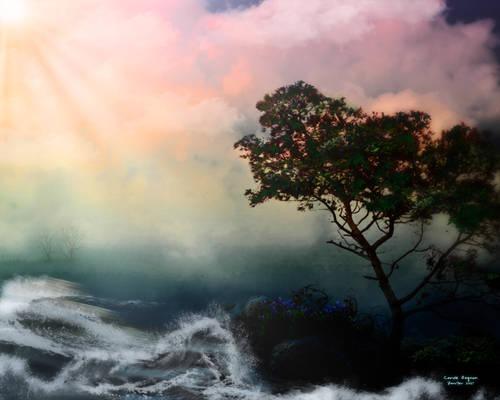 Quick fantasy landscape 1
