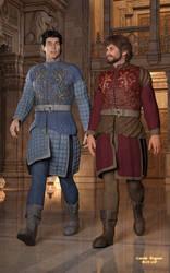 Tristan and Clovis