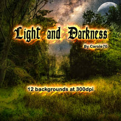 Light and Darkness Backgrounds